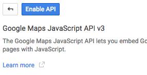 enable-google-api